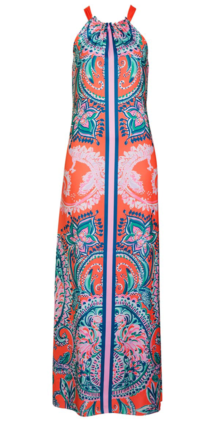 HOLLYN HALTER MAXI DRESS by Lilly Pulitzer