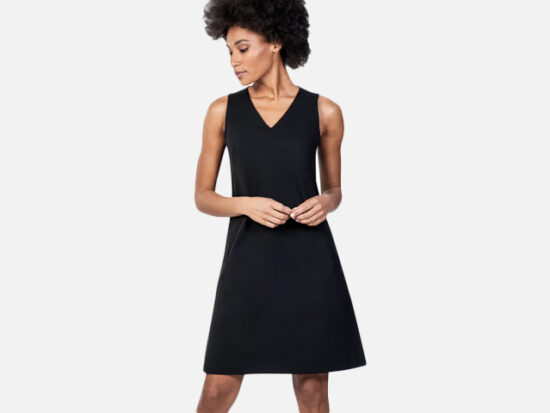 Ministry of Supply Kinetic A Line Dress.