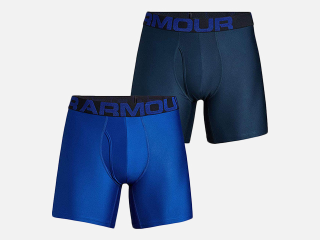 Under Armour Men's Tech 6-inch Boxerjock 2-Pack.