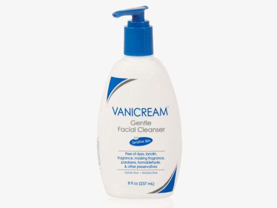 Vanicream Gentle Facial Cleanser with Pump Dispenser.