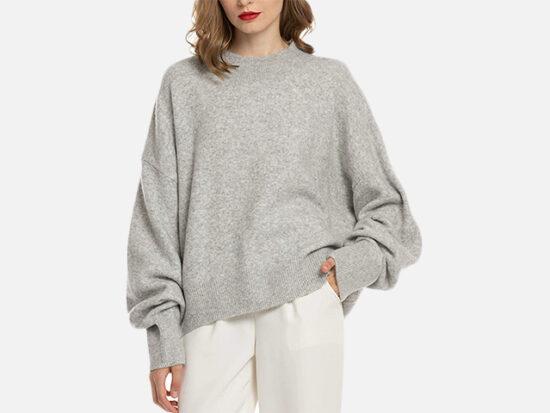 Woolen Bloom Women Lightweight Sweater.
