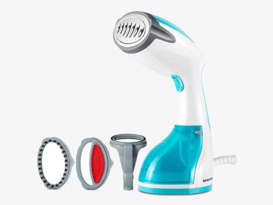 BEAUTURAL 1200-Watt Steamer for Clothes with Pump Steam Technology.
