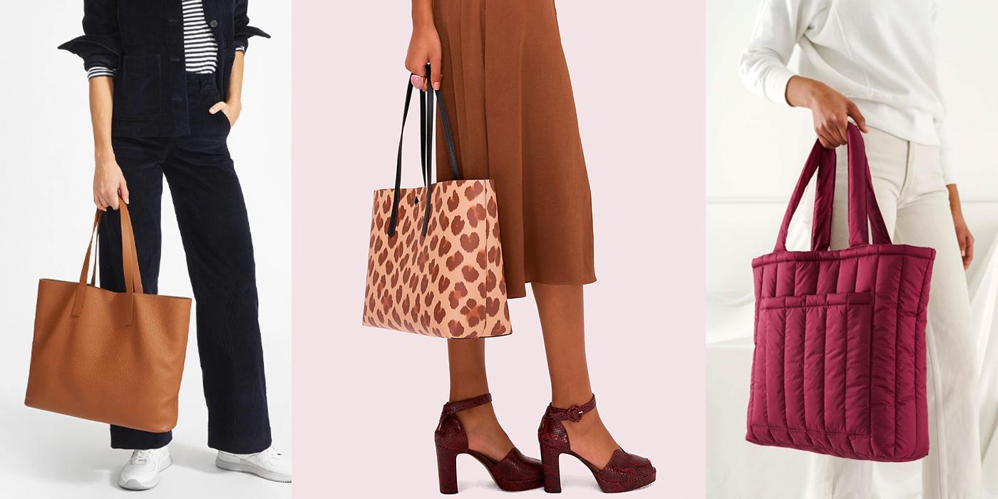 shopping office travel purse Burgundy tote bag monogram zipper handbag large leather purse