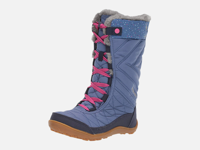 Columbia Kids' Youth Minx Mid Iii Print Omni-Heat Snow Boot.