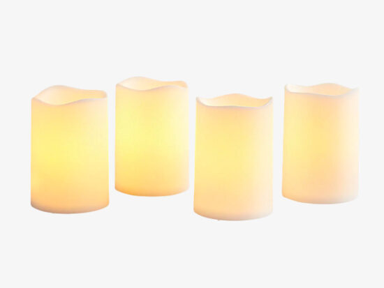 Deco Wick™ LED Outdoor Votive Candle Set.