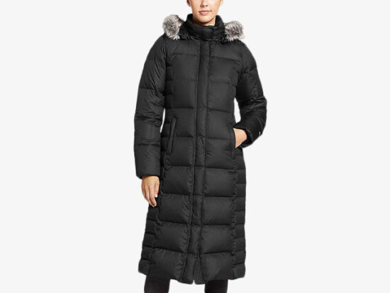 Eddie Bauer Women's Lodge Down Duffle Coat.