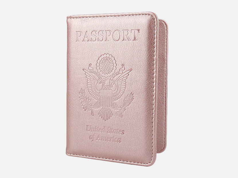 GDTK Leather Passport Holder Cover Case.