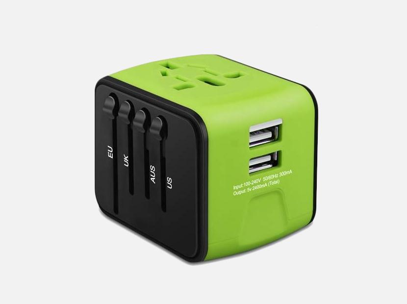 HAOZI Universal Travel Adapter.