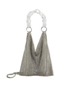 Mango Metallic Mesh bag..