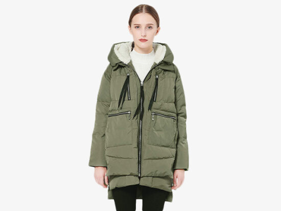 Orolay Women's Thickened Down Jacket.