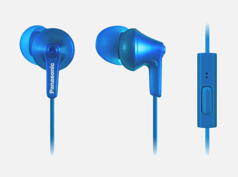 PANASONIC ErgoFit Earbud Headphones.