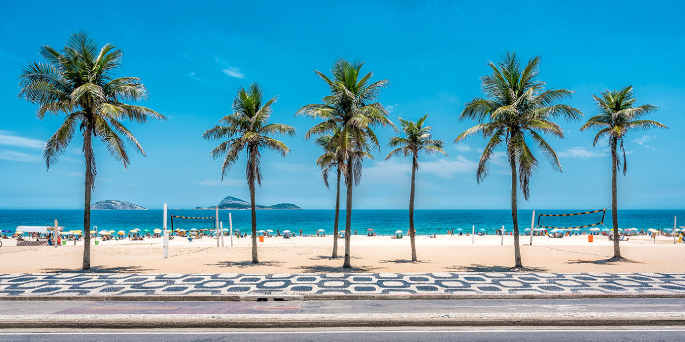 The One Perfect Outfit to Rock on Copacabana Beach.