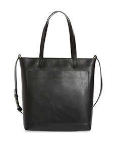 The Zip-Top Medium Transport Leather Tote MADEWELL.