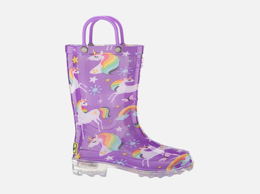 Western Chief Girls' Waterproof Rain Boots.