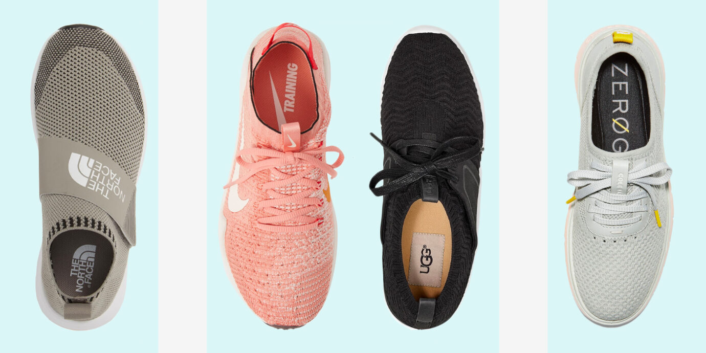Women's Sneakers That Won't Take Up a Ton of Space.