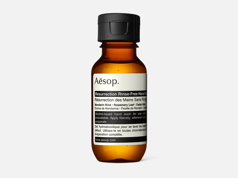 Aesop Resurrection Rinse-Free Hand Wash.