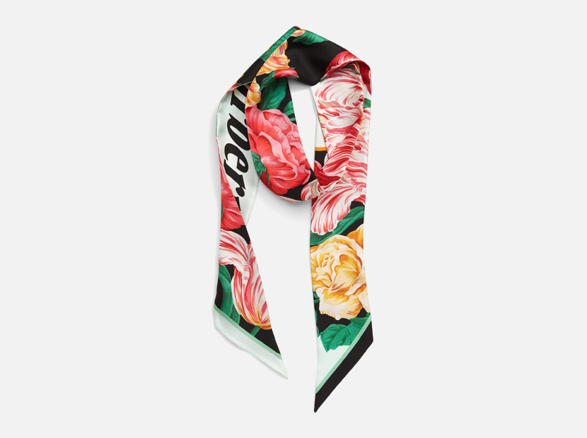 Archive Graphic Silk Scarf BURBERRY.