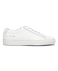 Common Projects Original Achilles Low in White.