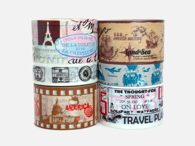 Crafty Rabbit Vintage Travel Washi Tape.