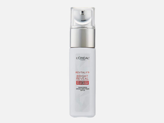 Face Moisturizer with SPF 30 by L'Oreal Paris.