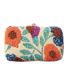 Florentia Beaded Clutch.