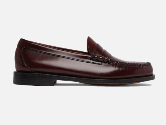 G.H. Bass & Co. Weejuns Larson Leather Penny Loafers.