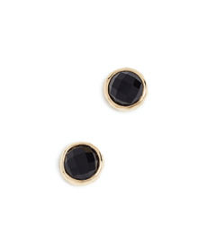 Gorjana Power Gemstone Stud Earrings .