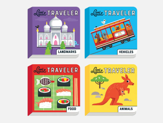 Little Traveler Board Book Set.