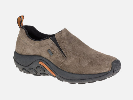 Merrell Men's Jungle Moc Waterproof Slip-On Shoe.