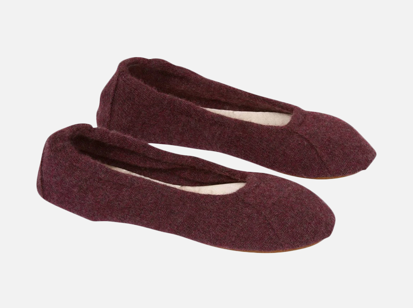 Nakedcashmere ROSIE BALLET SLIPPERS.