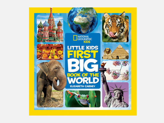 National Geographic Little Kids First Big Book of the World.