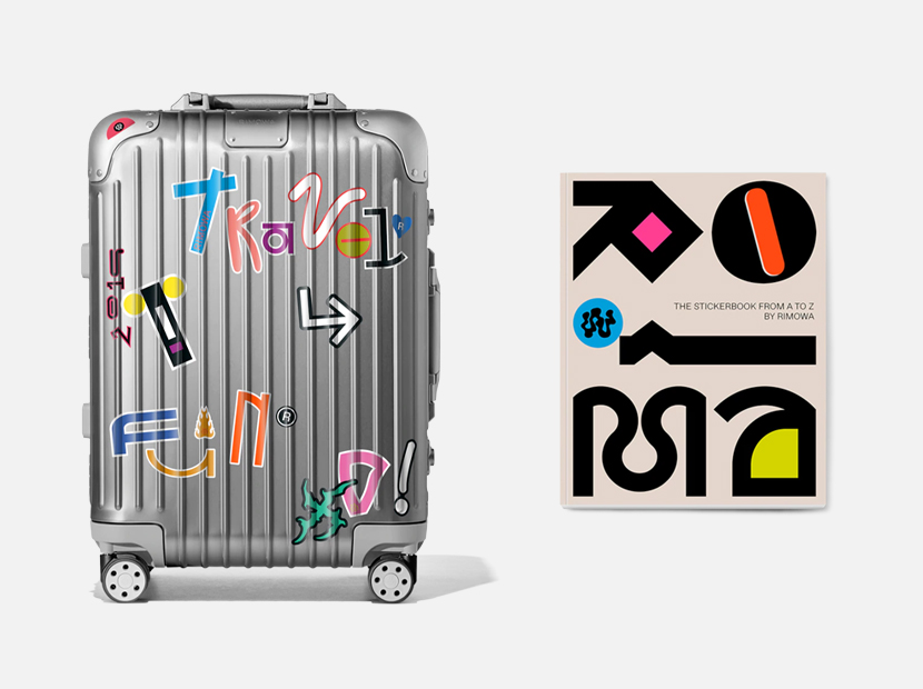Rimowa The Sticker Book.