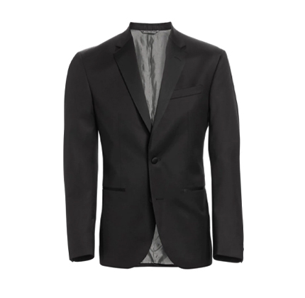 Saks Fifth Avenue MODERN Wool Tuxedo Jacket.
