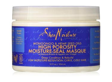 Shea Moisture High Porosity Moisture Correct Masque.
