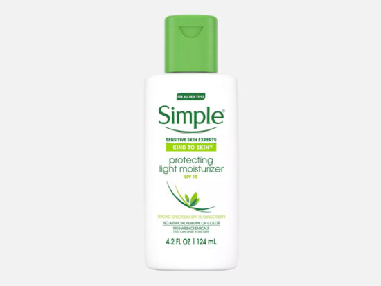 Simple Kind to Skin Protecting Light Moisturizer - SPF 15.