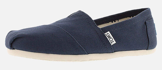 TOMS Mens Canvas Classics Slip-On.