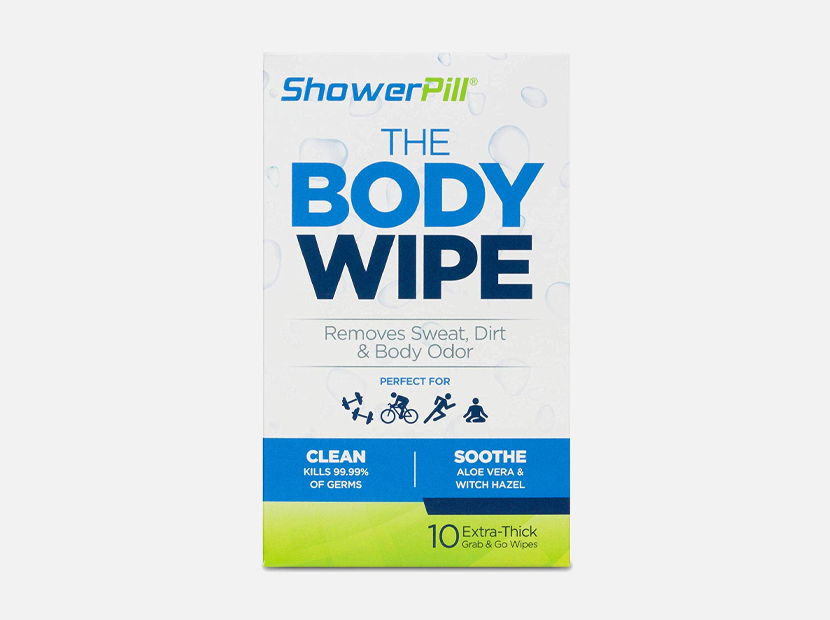 The Body Wipe by ShowerPill.