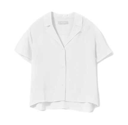 The Clean Silk Short Sleeve Shirt.