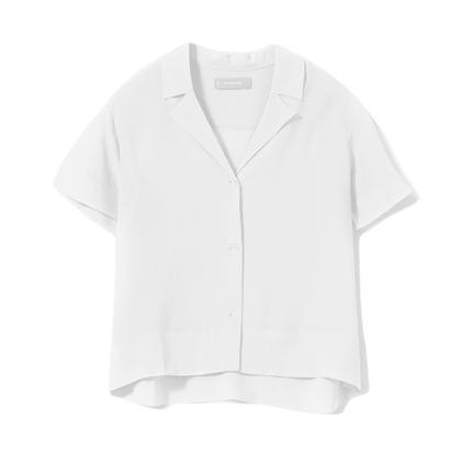 The Clean Silk Short Sleeve Shirt.