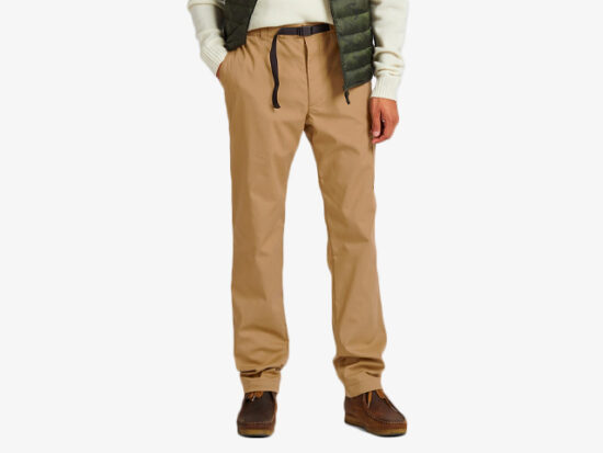 MEN HEATTECH WARM-LINED PANTS.