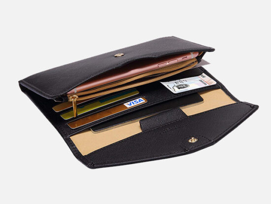 Zoppen Multi-purpose Rfid Blocking Travel Passport Wallet.