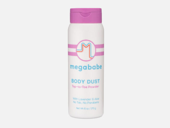 megababe  Body Dust Top-to-Toe Powder.