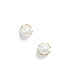 pearlette delicate stud earrings KATE SPADE NEW YORK.