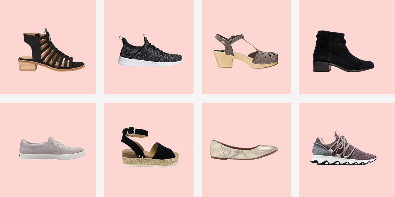 Women Elastic Band Wedges Sandals Platform Round Toe Heeled Shoes Pure Color Casual Walking Slippers Breathable Sneakers