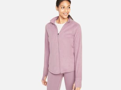 Old Navy Women's Micro Performance Fleece Zip Jacket.