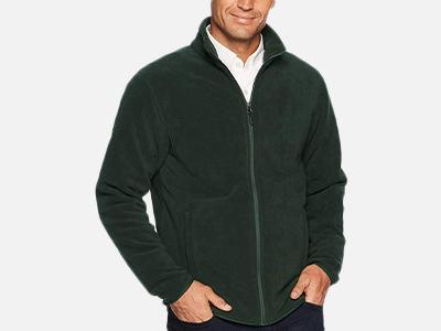 Amazon Essentials Men's Polar Fleece Jacket.