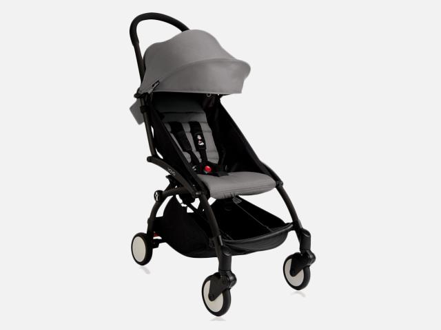 BabyZen Yoyo+ Stroller Black Frame.