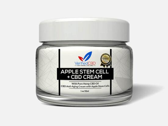 CBD Anti-Aging Cream with Apple Stem Cells.