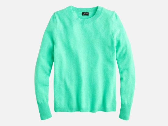 Crewneck Cashmere Sweater J.CREW.