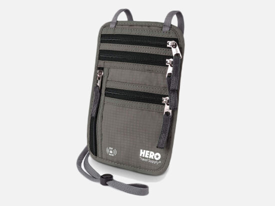 HERO Neck Wallet.